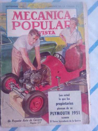 Coleccion revistas antiguas de mecanica popular