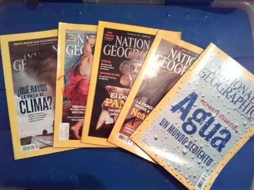 Combo revista national geographic (en fisico)