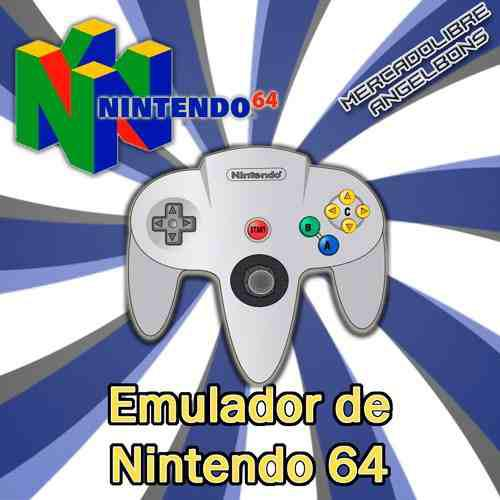 Emulador nintendo 64 + 130 juegos para pc y android