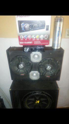 En venta combo sonido para carro equipo plantas cornetas