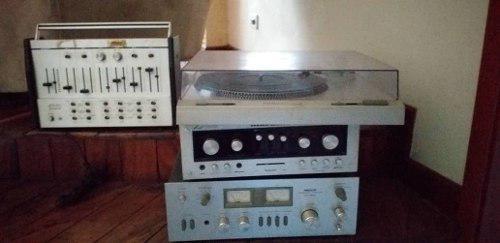 Equipo de sonido planta