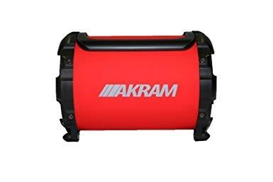 Equipo de sonido portátil akram corneta hd quality sound