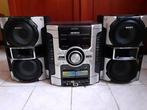 Equipo de sonido sony genezi 4400w (80 vrds)