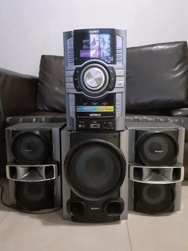 Equipo de sonido sony, modelo: hcd-gt555