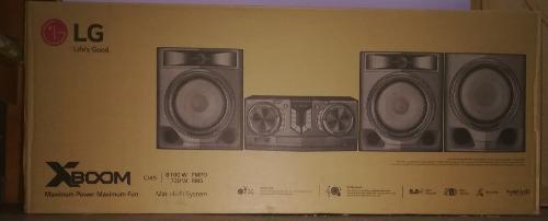 Equipo sonido lg cj45 bluetooth usb 8100w