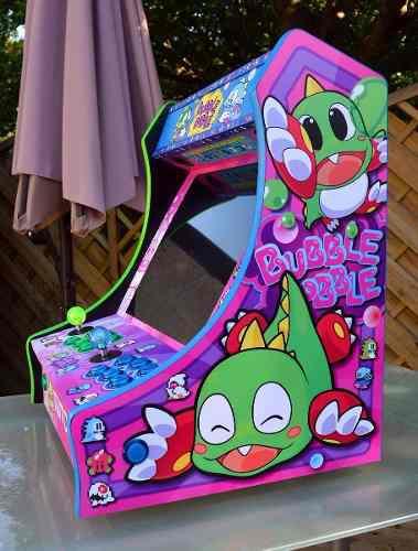 Maquina arcade tipo bartop personalizada