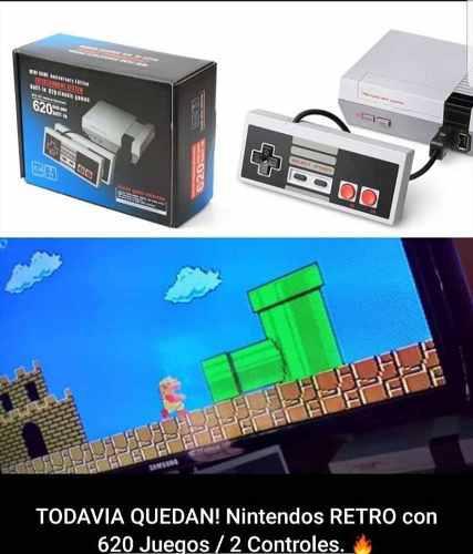 Nintendo 620 juegos edición especial full equipo
