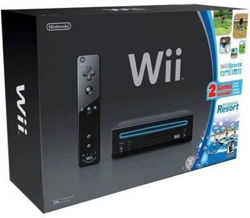 Nintendo wii edición black $60 o cambio por ps3