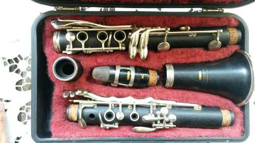 Oferta clarinete yamaha 34 ii vintage de madera regalo