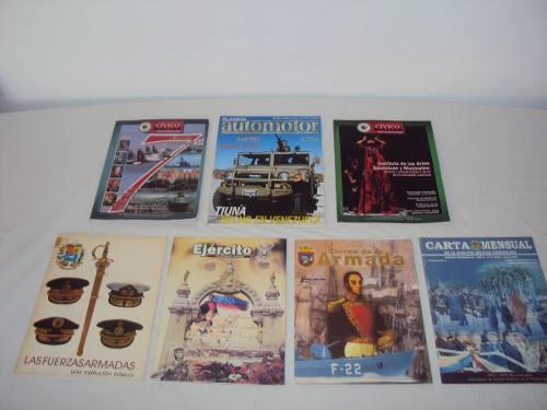 Revistas de colección fuerza armada venezolana