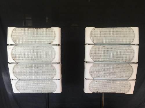 Sistema 8 cabezales line array la-45 soundbarrier original.