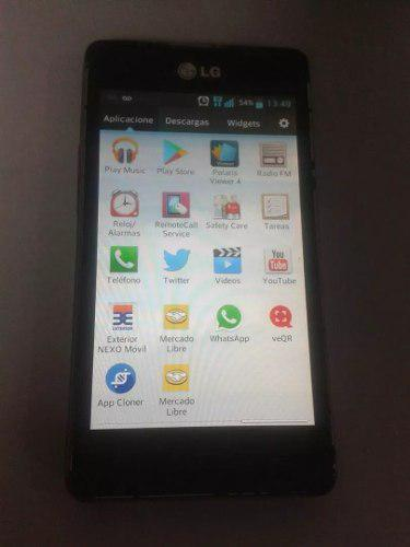 Telefono android lg l5 oferta operativocon pila dañada