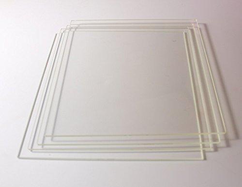 Computacion impresora 3d vidrio silicato build placa amz