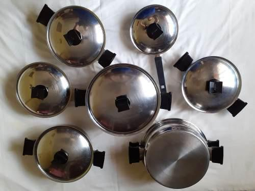 Renawere, juego de ollas de 15 piezas