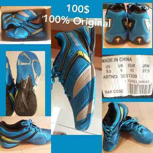 Zapatos tenis babolat kompressor adulto 9.5 originales