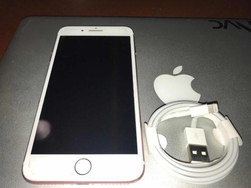Iphone 7 plus 256gb sin detalles gold rose
