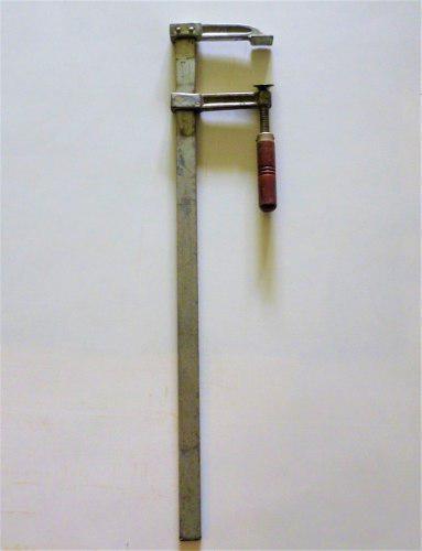 Prensa f sargento carpinteria largo: 89cm mandibula:18 cm