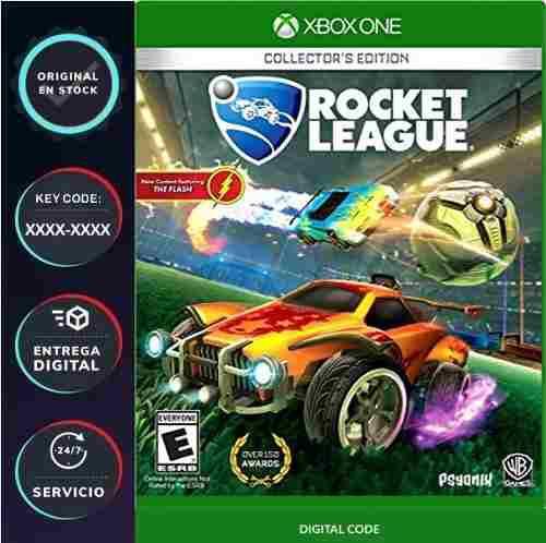 Rocket league xbox one codigo digital key licencia