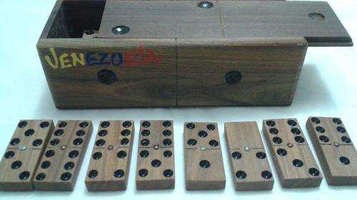 Domino madera artesanal grande