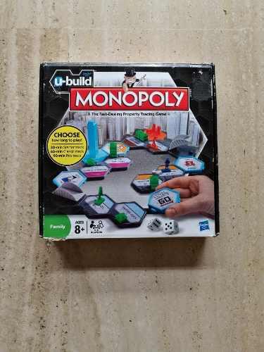Juego de mesa monopoly u build importado