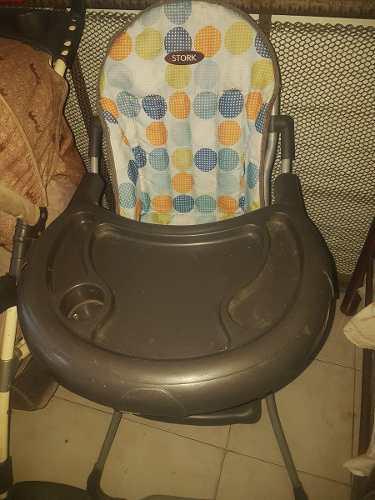 Mesa de comer para bebes plegable
