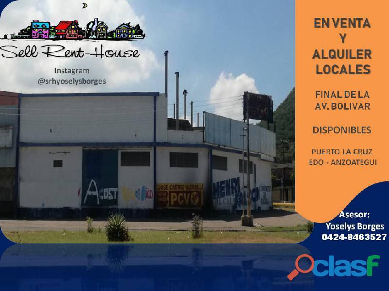 Local comercial deposito galpon final de avenida bolivar