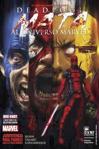 Cómic, Marvel, Deadpool Mata Al Universo Marvel
