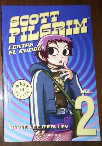 Cómic Original Scott Pilgrim Volumen 2 En Español