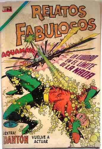 Coleccionable Suplemento Relatos Fabulosos Presenta Aquamán