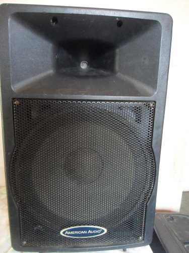 Cornetas pasivas 15 pulgadas american audio