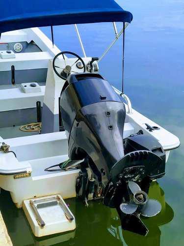 Motor fuera de borda mercury 90 hp 4 tiempos