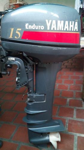Motor fuera de borda yamaha 15 hp pata larga