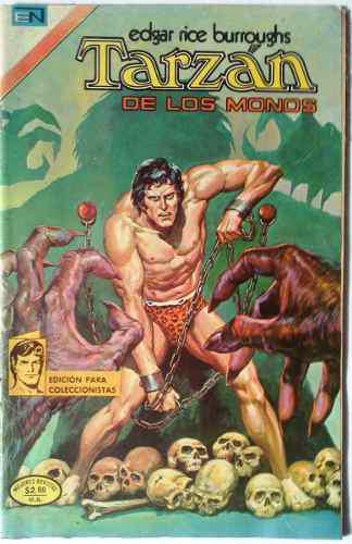 Suplemento Tarzán De Los Monos N° 411 23 Septiembre 1974