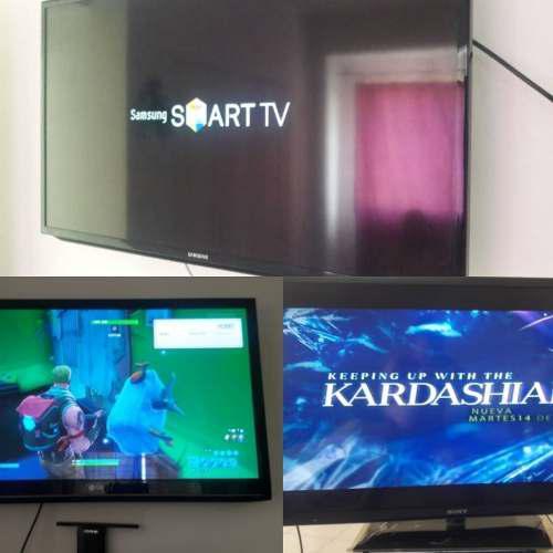 Televisores smart tv led samsung, lg síragon