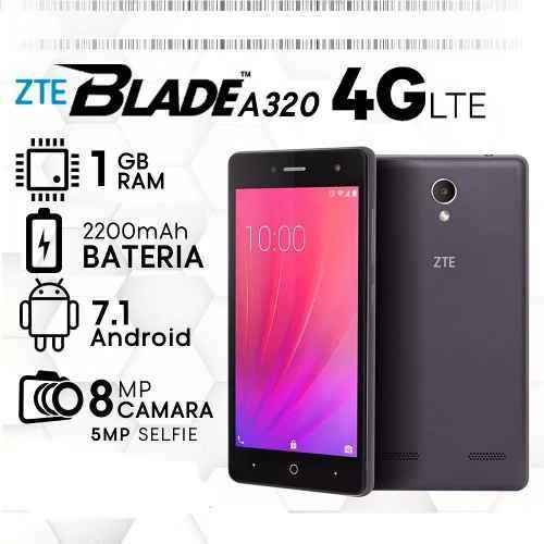 Zte a320 / caribe 5 / funciona movistar y movilnet / 8 gb