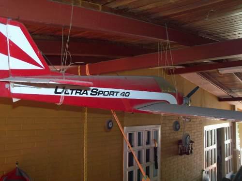 Avion Aeromodelismo Ultra Sport 40