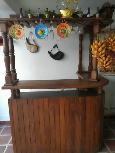 Bar de madera para hogar listo de utilizar perfecto estado
