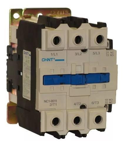 Contactor electrico de 95 amp nc1 110/220v marca chint