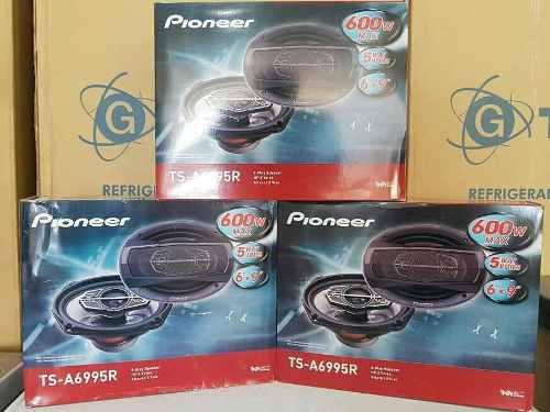 Cornetas pioneer 6x9 600w 5 vías modelo ts-a6995r