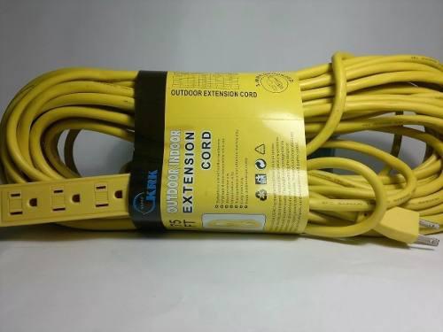 Extensiones electricas de 15 metros con multitoma!