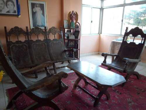 Lea bien juego de muebles country y consola con espejo,600 v