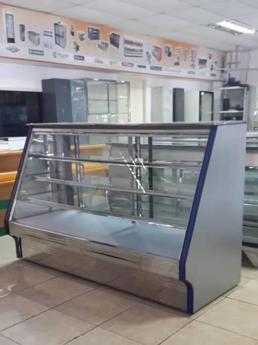 Mostrador exhibidor pastelería panaderia