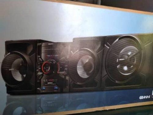 Sony genezi mini componente modelo mhc-gtr 555 de 8300 w