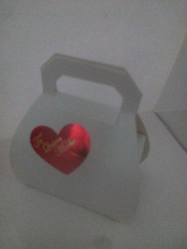 Caja modelo mini carterita (precio por docena)