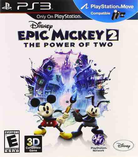 Epic mickey 2 play station 3 fisico the power of two usado.