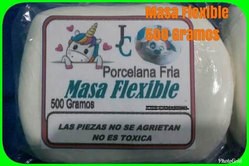 Masa flexible 125 gramos 250 gramos y de 500 gramos