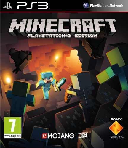 Minecraft digital juegos ps3 original somos tienda física