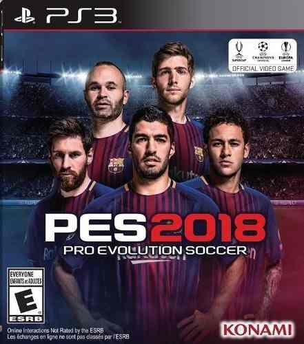 Pes 2018 ps3 pro evolution soccer 2018 ps3 digital