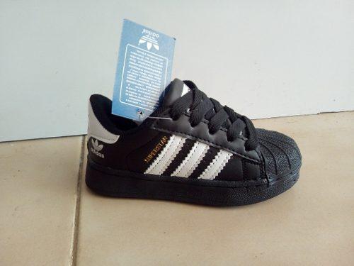 Zapatos adidas super star para niños a partir de la talla