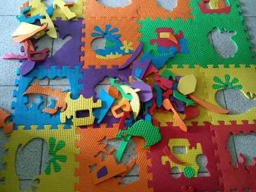 Alfombra foami bebé niños 36 piezas